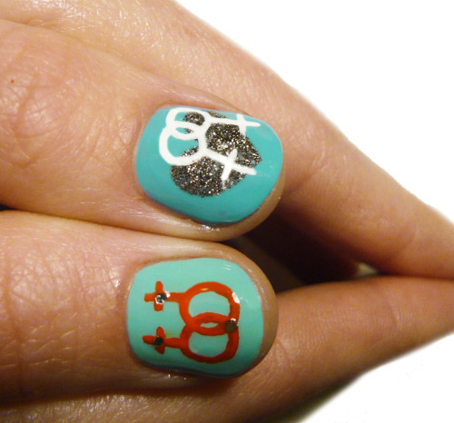 fuckyeahfeminists:  omg. gay nails!  GIMME DAT