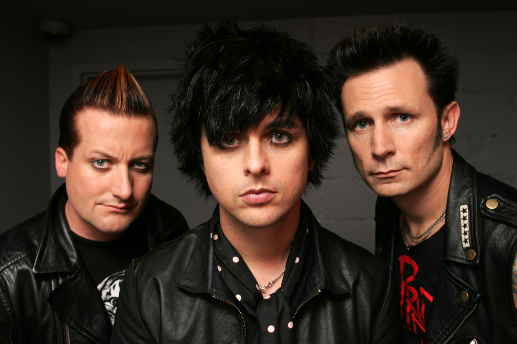 Green Day officially began recording their new album today! Billie Joe Armstrong took to Twitter to update fans. 'Happy Valantine's day! Officially started recording the new record today.  It's FUCK TIME!!!!'