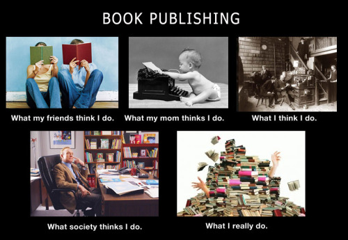 Love it! tatteredcover:  Ha! So true! quirkbooks:  We couldn't resist making one.