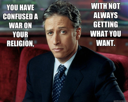 rosalarian:  agent-pluto:  I love this man  <3  Jon Stewart is pretty good re: hitting nails on heads.