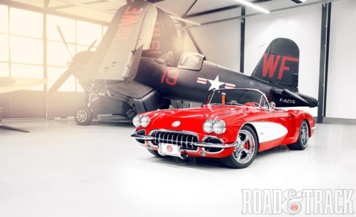 This modern version of the classic 1959 Corvette from German tuning house Pogea Racing could be yours for $300K. (Source: Road & Track)