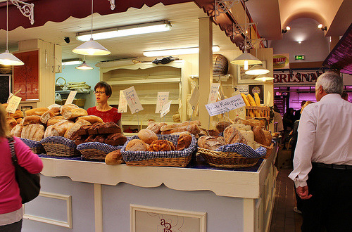 Give Us Our Daily Bread (by Dora Meulman) English Market Cork Ireland. I love Irish bread.