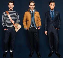 gqfashion:  First Look: J.Crew Fall 2012 See the full J.Crew Fall 2012 men's collection from New York right now at GQ.com.