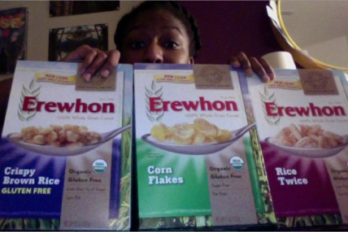Whoohoo! Just got some Life-sized samples from Attune Foods Erewhon Rice Twice Cereal, Erewhon Corn Flakes Cereal and Erewhon Crispy Brown Rice- Gluten Free Cereal !!!! Reviews coming soon!