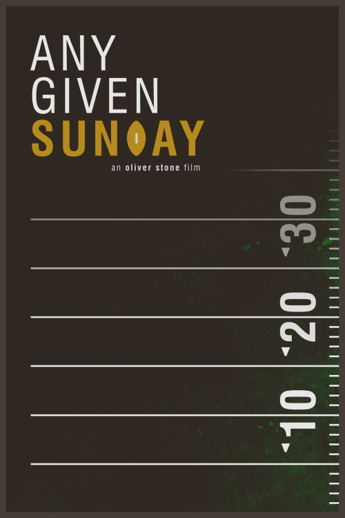 Any Given Sunday by foursqr