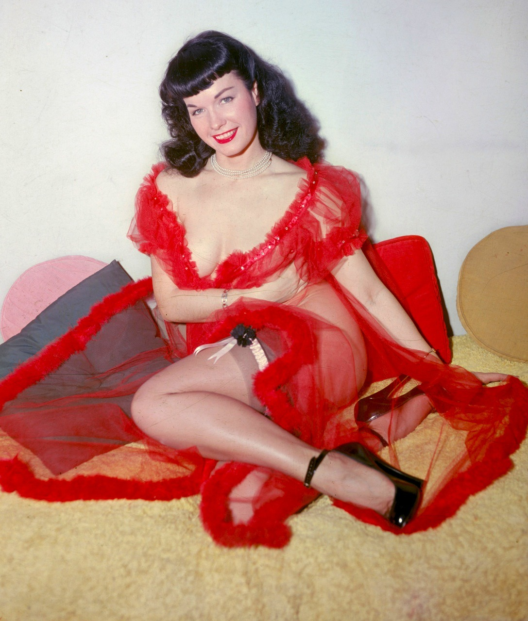 Bettie Page wants you to have a Happy Valentines Day!