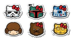 Hello Kitty does Star Wars x