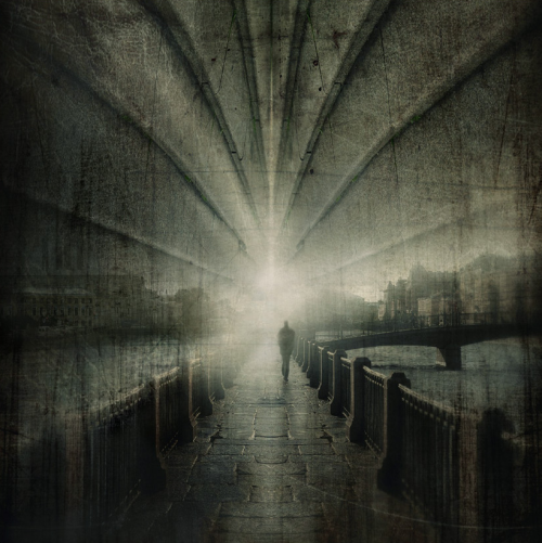 Strange City by Gennadi Blohin. Interesting post-processing with a lot of texture.