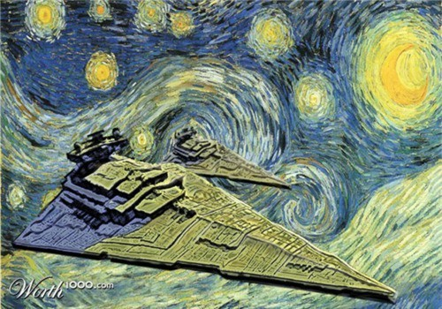 starwarsanyone:  Starry Destroyer Night