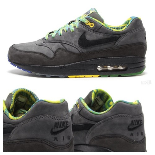 Black History Month Nike Air Max 1.  Available now at Nice Kicks. (Taken with instagram)