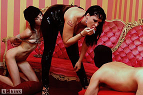 Julie Simone. Slaves Will Play P1. Mistress Julie Simone has come home to find that two of her subs have been playing with toys they shouldnt have whi
