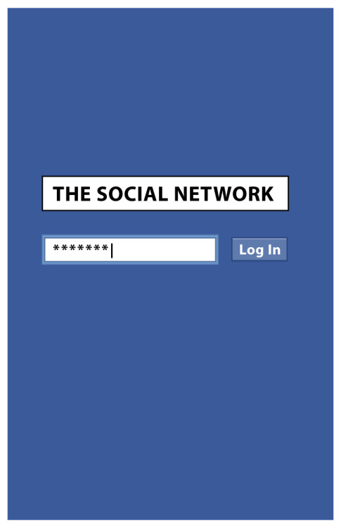 fuckyeahmovieposters:  The Social Network by Tim Masterson