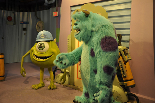 mywdw:  Just another day at Monsters, Inc.