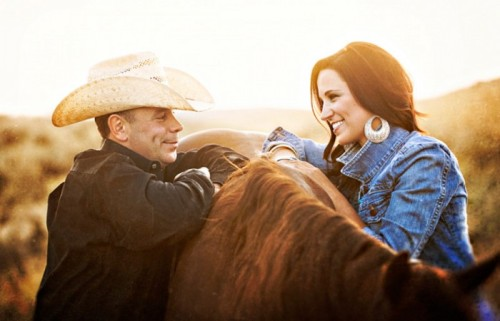 Country love… just perfect <3 (via Lindsay & Cory's Country Love Shoot « Engagement Shoots « Bow Ties & Bliss | One of a Kind Wedding Inspiration From the Pacific Northwest)