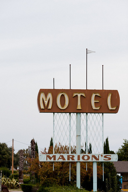 Marion's Motel by Jeremy Brooks on Flickr.