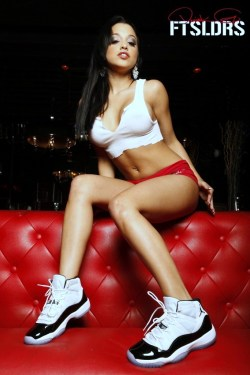 the only way I woulda copped the Concords is if they came with her