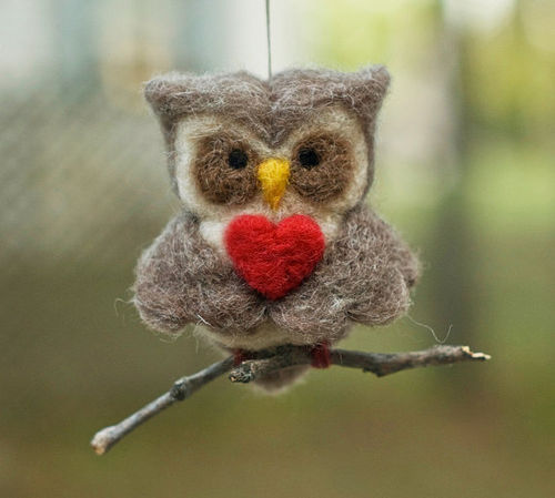 Adorable use of felt!