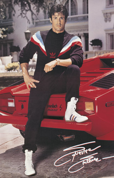 When Sly thought head to toe Adidas was RAD