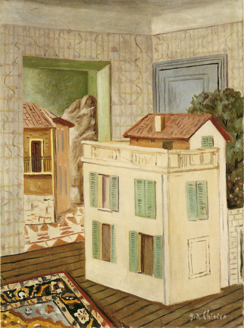 Giorgio de Chirico, The House within the House, 1924