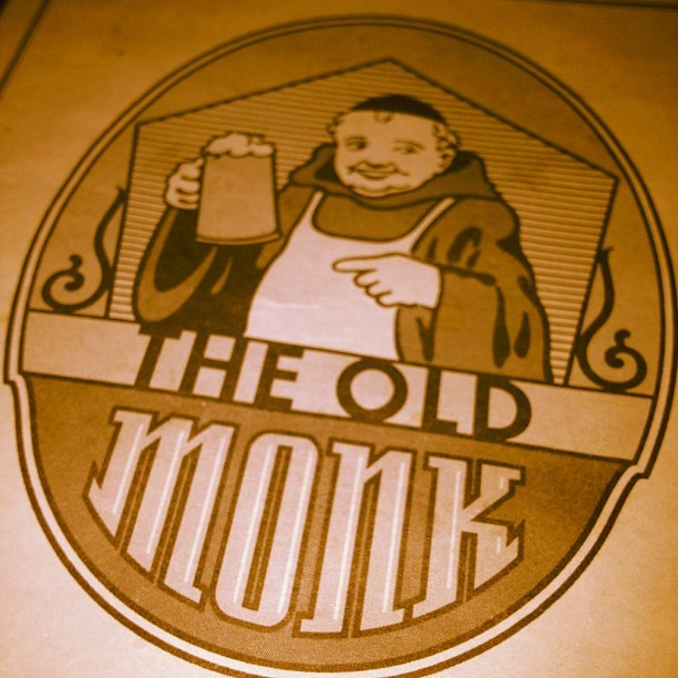 Til next time old friend #oldmonk (Taken with instagram)