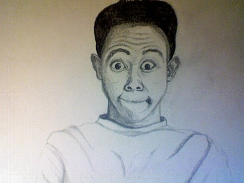 Looks better in person, quick sketch of Tyler the Creator