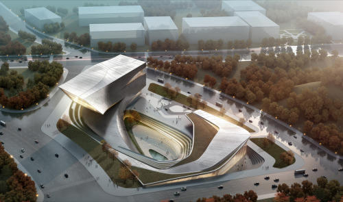 oscarraymundo:  Dalian Library, China by 10 Design