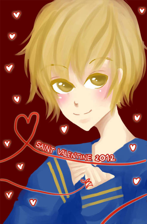 Happy Valentine day!! This day will end soon so, I will upload this as fast as I can.. Thanks to all my followers.. I know I'm no good as many people around but I try to make my best..