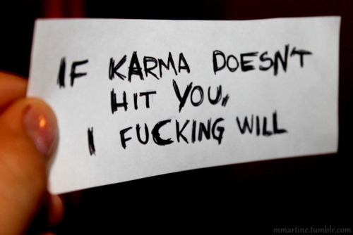 Ha! I'll let Karma do it..it's not worth it.