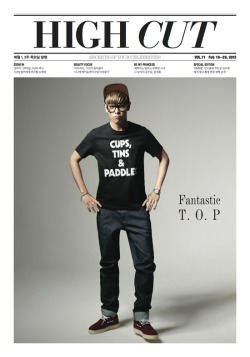 TOP for High Cut Magazine