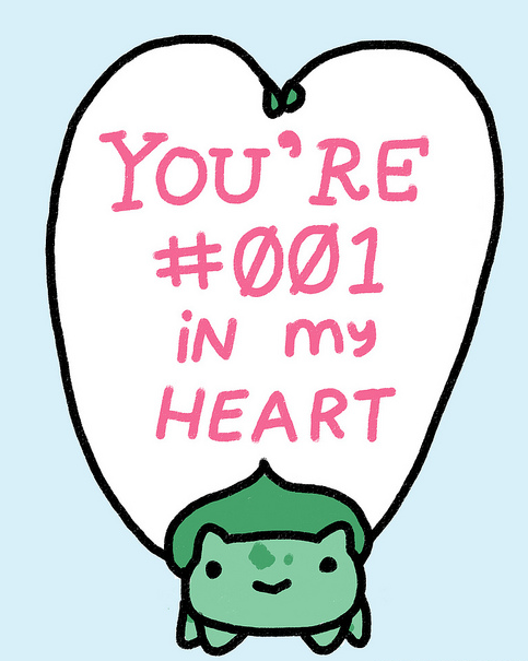 notvinylla:  Awww love you too, Bulbasaur!