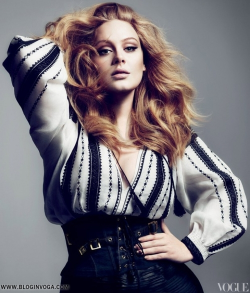 fashionbellus:  Adele for Vogue