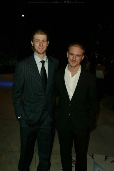 Jon and Ben Foster at 2005 Vanity Fair Oscar party