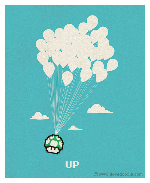 ilovedoodle:  UP on Flickr. Doodle Everyday 262 ilovedoodle Website / Facebook / Twitter / Tumblr / Shop