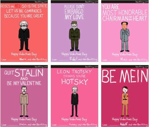 "Lol! ""Trotsky thinks you're hotsky!"""