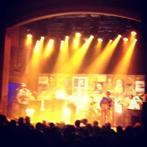 Dr. Dog on Valentine's Day with the wife.  (Taken with instagram)