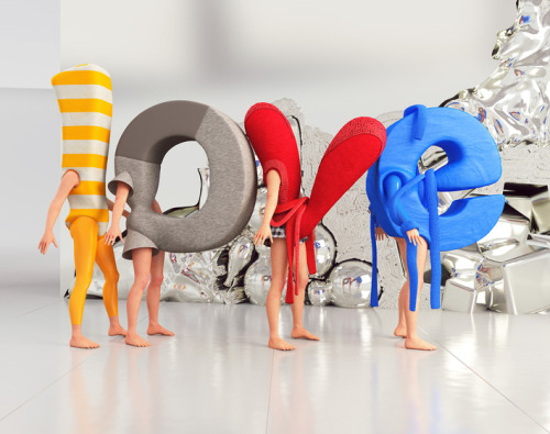 Love 3D Type – Chris Labrooy
