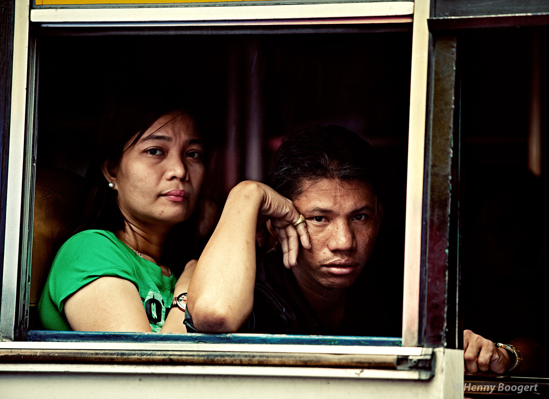 In a bus | Life in Manila - Philippines, October 2011