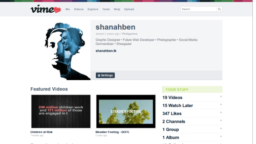 The new Vimeo is a lot cleaner. I like it.