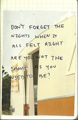 Don't forget the nights (by spendingtimewithyou)