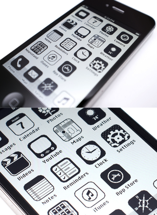 iOS '86 by Anton Repponen Time travel iPhone's User Interface back to 1986.