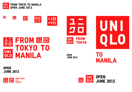 UNIQLO IN MANILA. Opening this June 2012 at SM Mall of Asia.