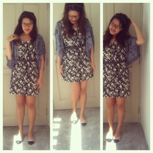 #ootd: Layering messy prints. #outfits  (Taken with instagram)