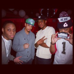 Par-City, YOung Wit, and Mr. Ivory Snow at his album release party #SexAfterSmoking (Taken with instagram)