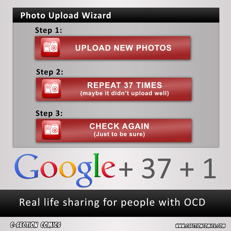 Google Plus 37 Plus 1 More on the dumbest ideas for social networks here: http://www.csectioncomics.com/2012/02/dumbest-ideas-for-social-networks.html