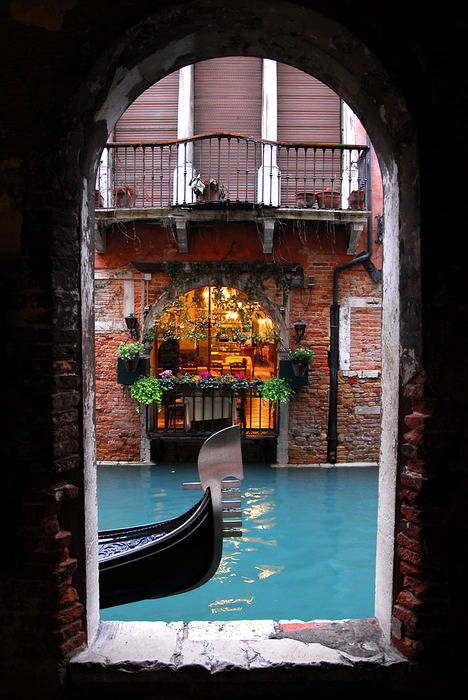 rod42:  Balconies, Venice, Italy photo via defect
