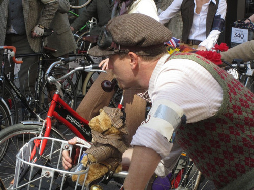 2011-04-09: Saville Row (Tweed Run) by psyxjaw on Flickr.