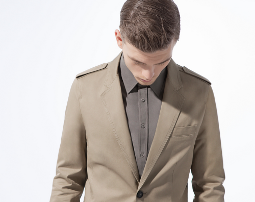 Lookbook March 2012, Zara Man.