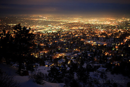 Boulder, CO (by matt house)