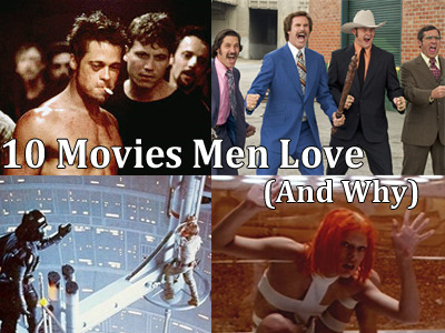 10 Movies Men Love And Why - The Frisky