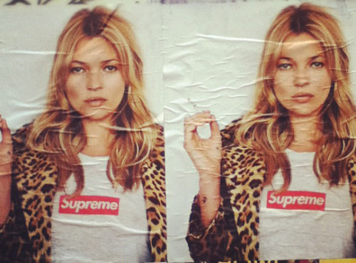 I don't condone smoking. At all. But there's something about Kate Moss with tousled hair, a fresh face and roots-that-really-do-need-a-touch-up that's kind of awesome.